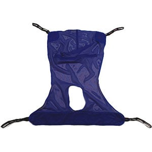 Reliant Full Body Sling with Commode X-Large