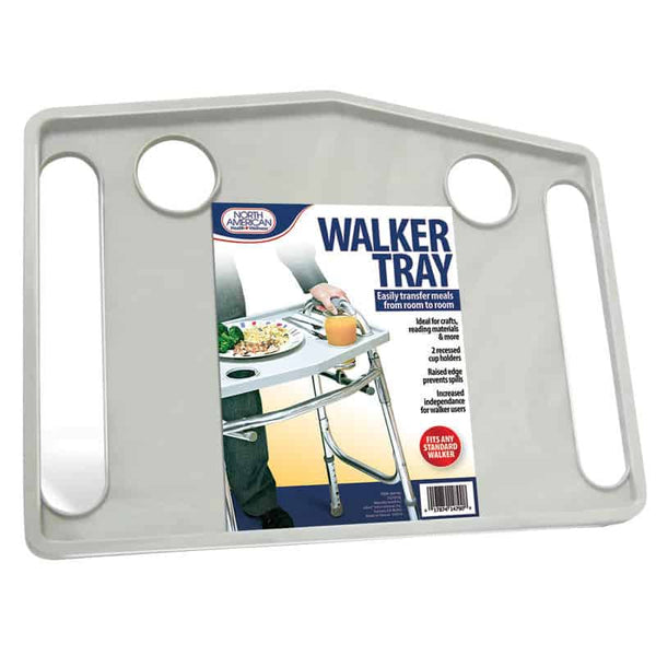 "Walker Tray, Gray, 20-3/4"" x 15-3/4"" x 1"""