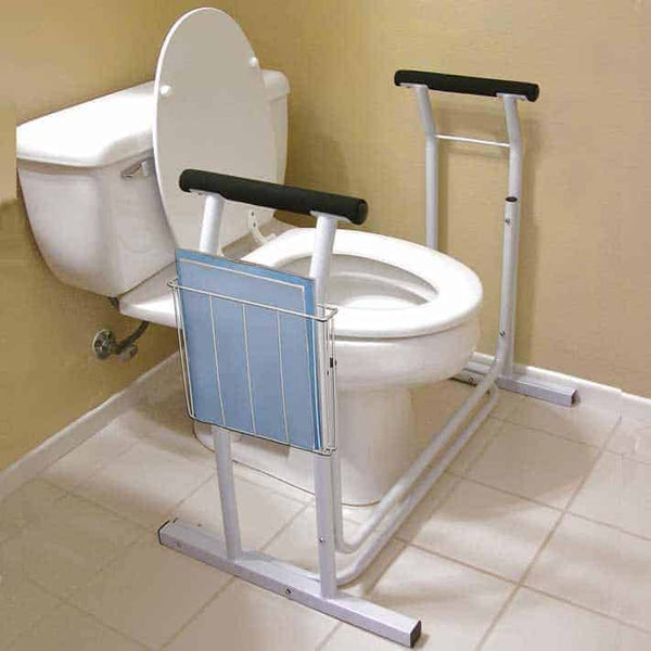 "Deluxe Safety Toilet Support, 29-1/2"" x 19"" x 26-1/4"""
