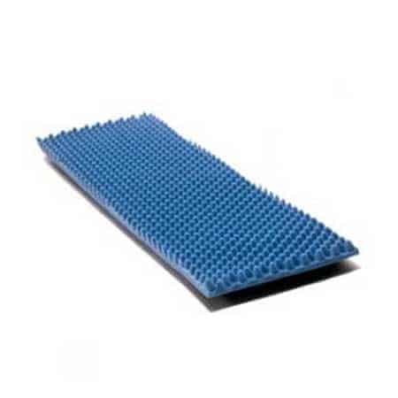 "Eggcrate Convoluted Foam Bed Pad, 33"" X 72"" X 4"""