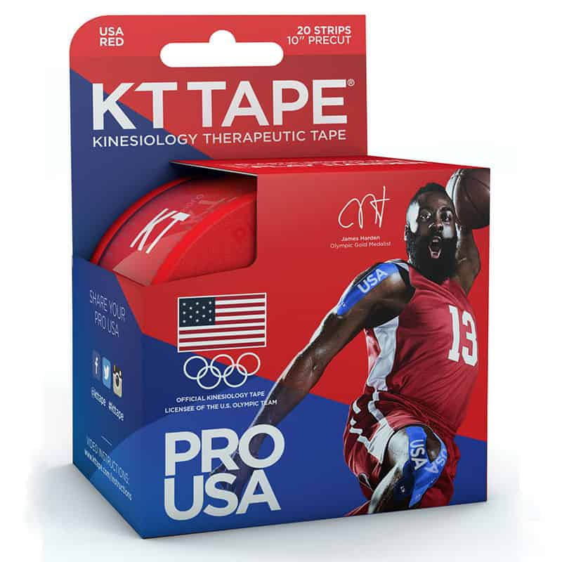 "KT Red Team USA Pro Synthetic Tape, 4"" x 4"""