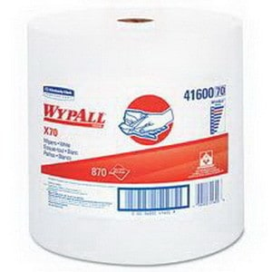 "Wypall L30 Wipes, 12.5"" X 13"", White"