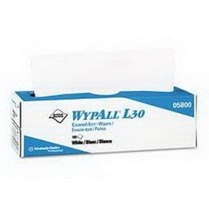 "Wypall X60 Teri Wipers, Pop-Up Box, 9.1"" x 16.8"""