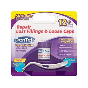 DenTek Temparin Max, Lost Filling AND Loose Cap Repair