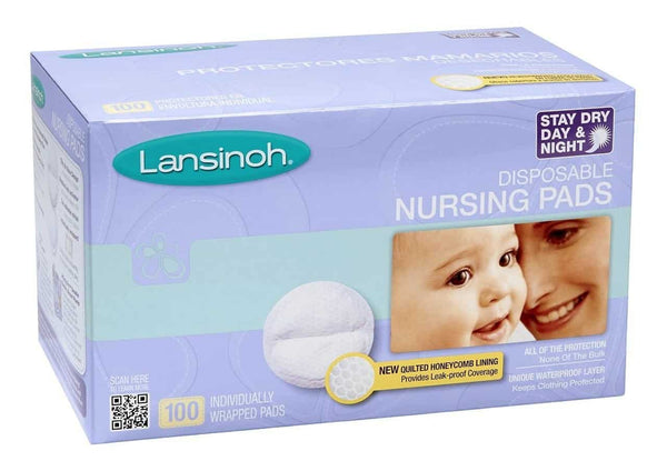 Lansinoh Disposable Nursing Pads 100's
