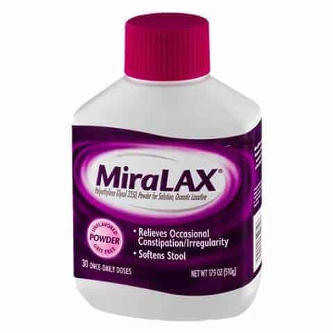 MiraLAX Laxative, Powder for Solution, 17.9 oz
