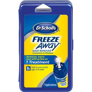 Dr. Scholl's FreezeAway Wart Remover 3-Pack