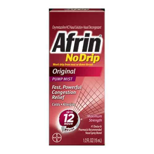 Afrin No Drip Original Nasal Spray, 0.5 oz