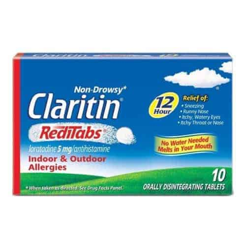 Claritin Allergy 12 Hour RediTabs, 10 Count