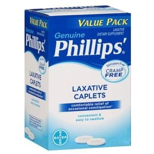 Phillips' Laxative Caplets