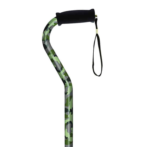 Offset Handle Cane, Camouflage