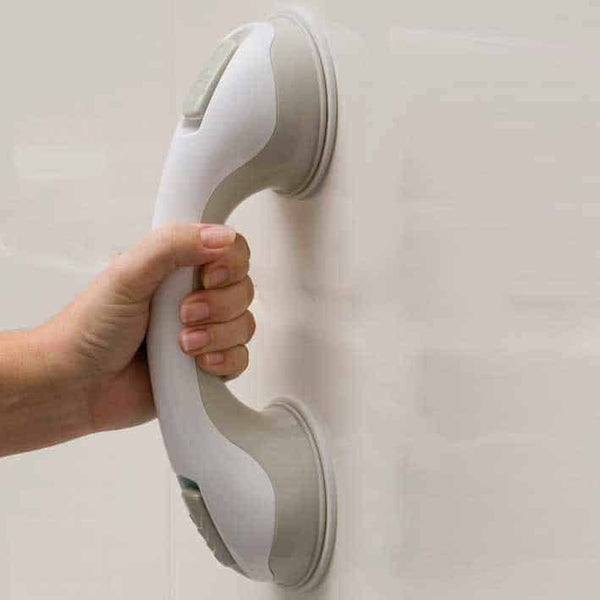 "Safe-er-Grip Suction Grab Bar, 16-1/2"", White"