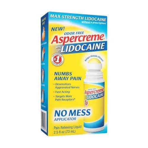 Aspercreme No Mess Roll-On with Lidocaine, 2.5 fl. oz.