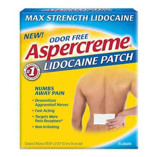 Aspercreme with Lidocaine Patch, 5 ct.