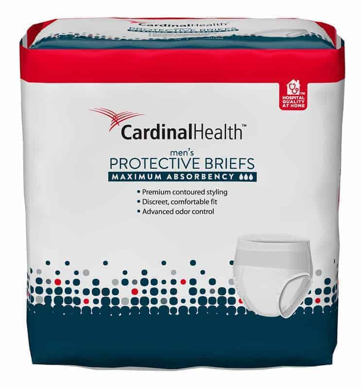 "Cardinal Maximum Absorbency FlexRight Protective Underwear for Men, Large/Extra Large, 45 - 58"", 130 - 230 lbs"