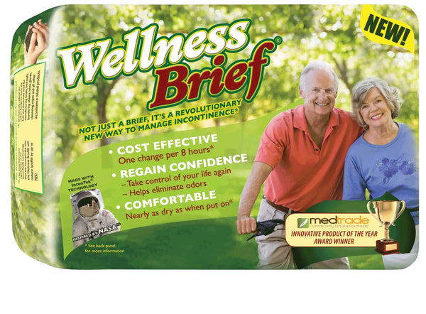 Wellness Brief Super Absorbent Large 36-46