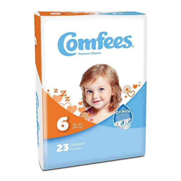 Comfees Baby Diapers - Size 6