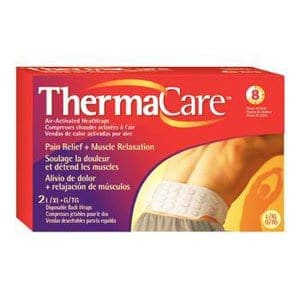 Thermacare Air-Activated Heat Wraps, Back and Hip, Large/X-Large