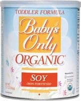 Baby's Only Organic Soy Toddler Formula