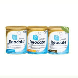 Neocate Junior Pediatric Nutrition Chocolate Powder 14 oz. Can