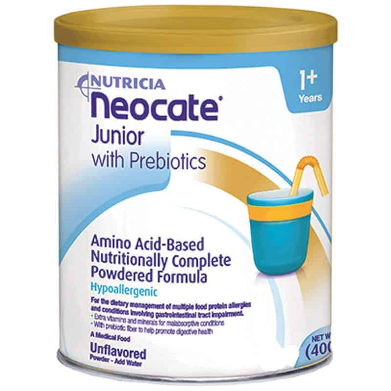 Neocate Junior with Prebiotics Unflavored Powder 14 oz. Can