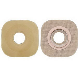 New Image 2-Piece Precut Flat FlexWear (Standard Wear) Skin Barrier 1-1/4""