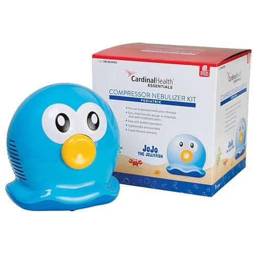 Cardinal Health Essentials JoJo the Jellyfish Pediatric Compressor Nebulizer, Piston-Style