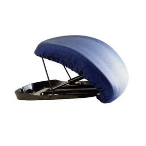 Upeasy Seat Assist Plus Manual Lifting Cushion, Navy Blue