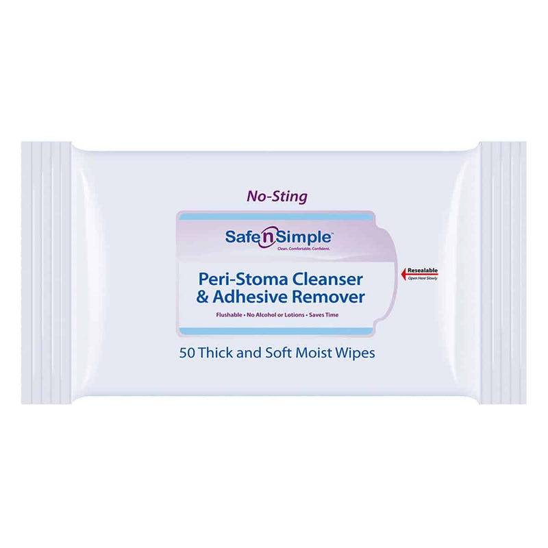 Peri-Stoma Cleanser and Adhesive Remover Wipe