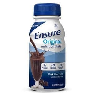 Ensure Nutritional Ready-to-Drink Shake, 237 mL, Dark Chocolate