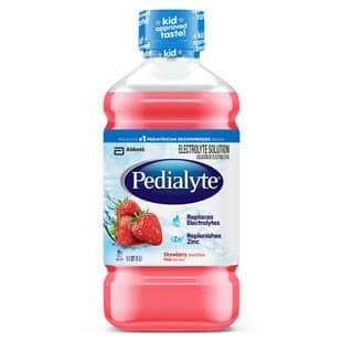 Pedialyte Ready-To-Feed, Retail 1 L Bottle, Strawberry