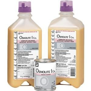 Osmolite 1 Cal Ready to Hang with Safety Screw Connector, 1000 mL
