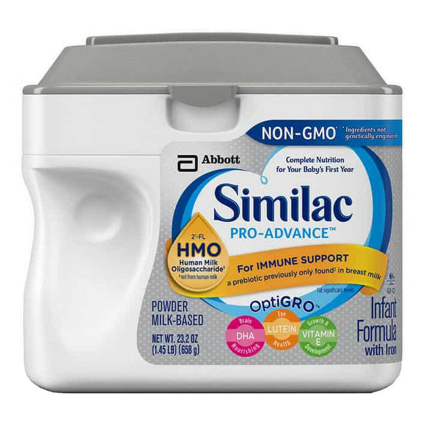 Similac Pro-Advance Organic 1.45 lb. Powder, Unflavored