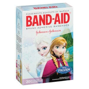 Band-Aid Decorative Disney Frozen Assorted 20 ct.