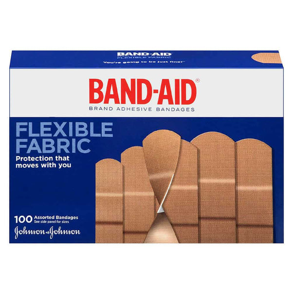 Band-Aid Flexible Fabric Assorted 100 ct.