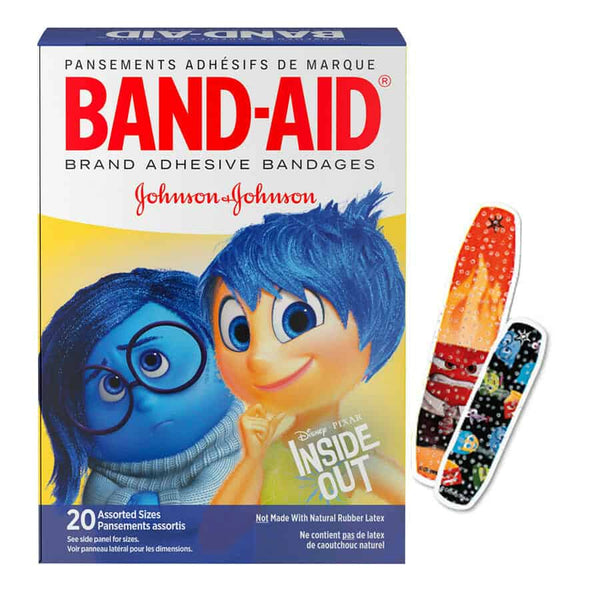 Band-Aid Decorative Inside Out Assorted 20 ct.