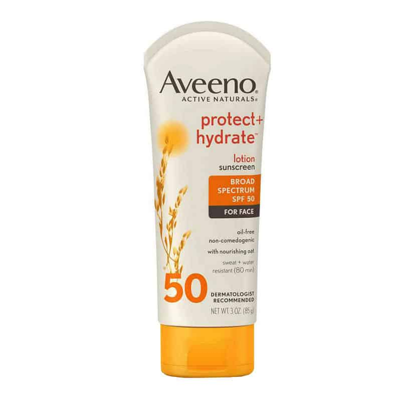 Aveeno Active Naturals Protect + Hydrate Sunblock SPF 50 Lotion, 3 oz.