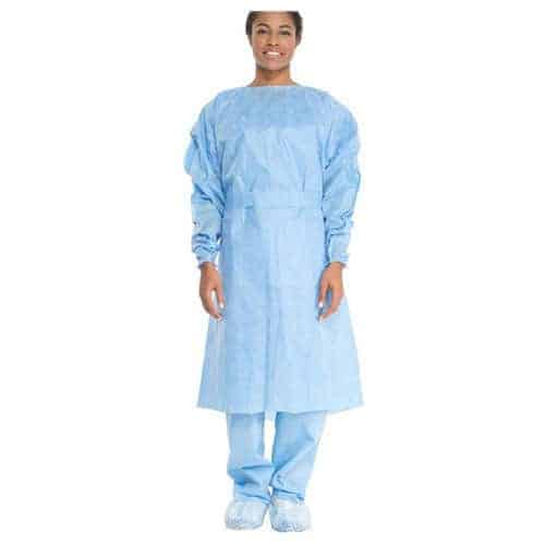 Lightweight Isolation Gown, Blue, Universal