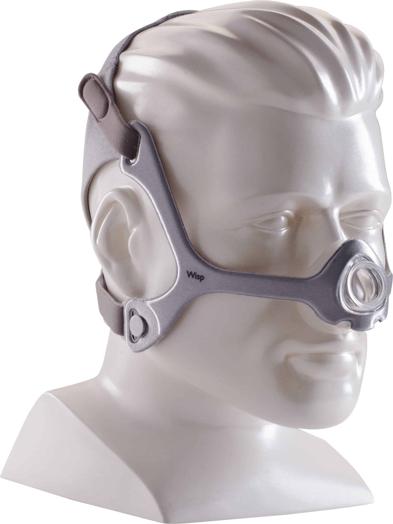 Wisp Mask with Clear Frame and Headgear