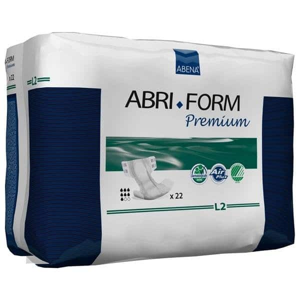 Abri-Form Premium Adult Briefs Completely Breathable Large