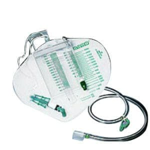 Infection Control Urine Meter 350 mL with Drainage Bag 2,500 mL