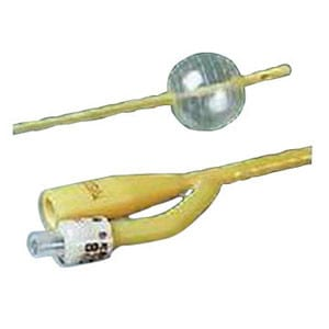 Economy LUBRICATH 2-Way Foley Catheter 18 Fr 5 cc