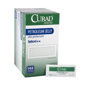 Curad Petroleum Jelly 5 g Foil Packet