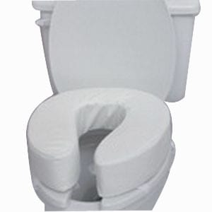 Toilet Seat Cushion w/Velcro Straps, 4""