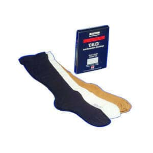 T.E.D. Knee Length Continuing Care Anti-Embolism Stockings Small,