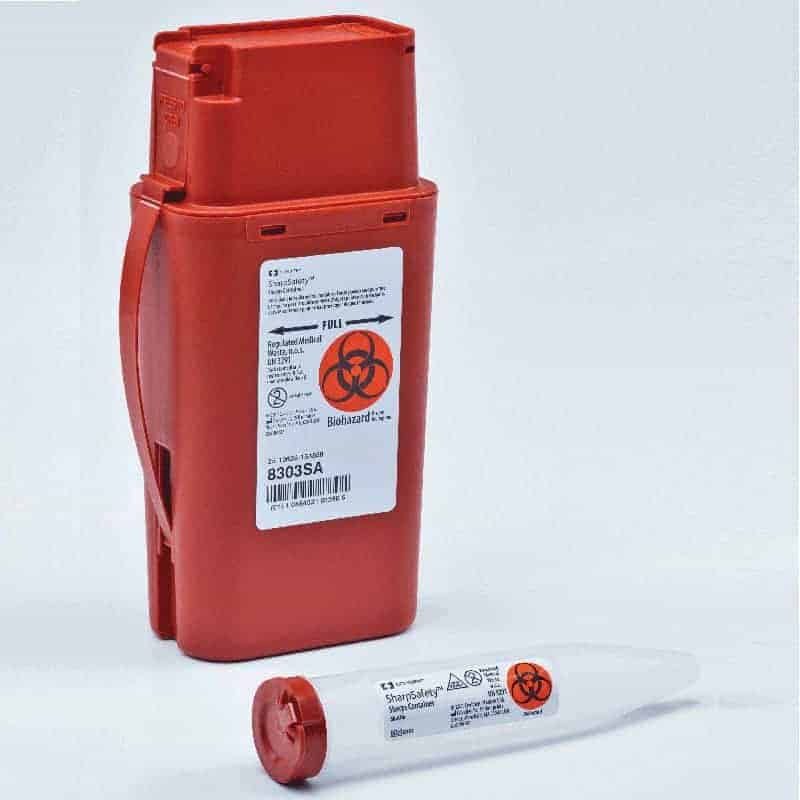 Transportable Sharps Container 1 Quart