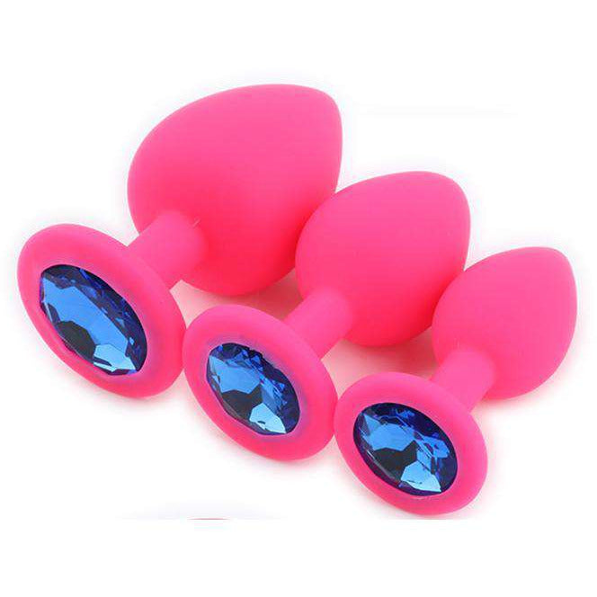 Silicone Butt Plug For Stimulation,Pink