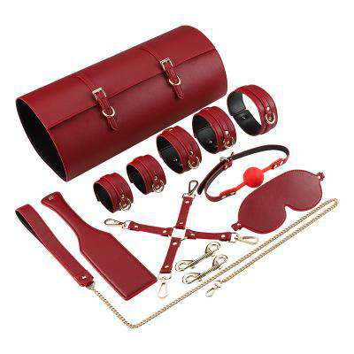 SM Bundle Flirt Bondage Sex Toy Set Storage Bag丨runyu