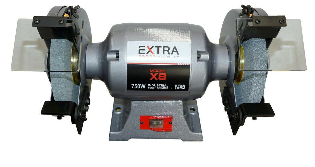 Terrific Industrial Bench Grinder X8 750W 200Mm X 25Mm Wheel With Pedestal Stand Pdpeps Interior Chair Design Pdpepsorg