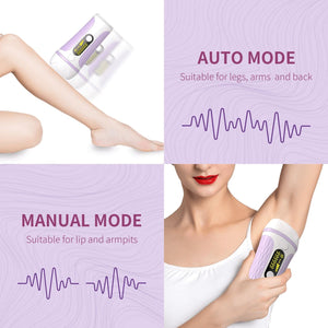 999999 Flash IPL Laser Hair Removal Permanent Hair Removal Device - Mico Beauty